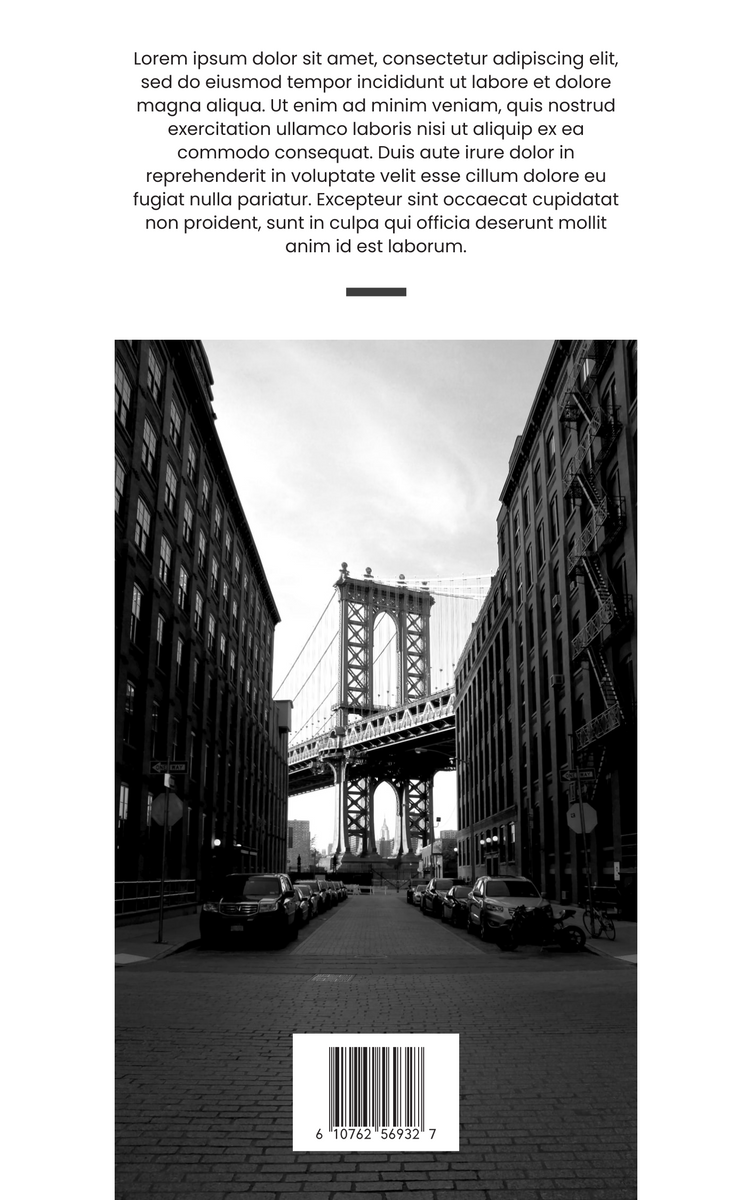Book Cover template: My Eye For Photography Book Cover (Created by InfoART's Book Cover maker)