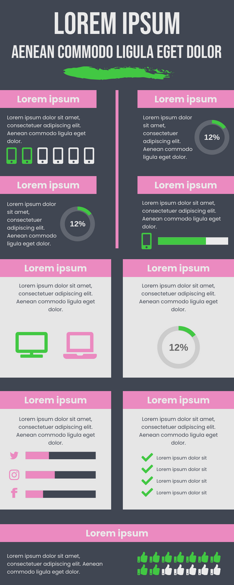 Infographic template: Data Presentation Infographic (Created by InfoART's Infographic maker)