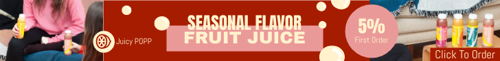 Banner Ad template: Detox Juice Sales Banner Ad (Created by InfoART's Banner Ad maker)