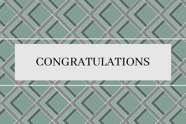 Greeting Card template: Pattern Congratulations Card (Created by InfoART's Greeting Card marker)