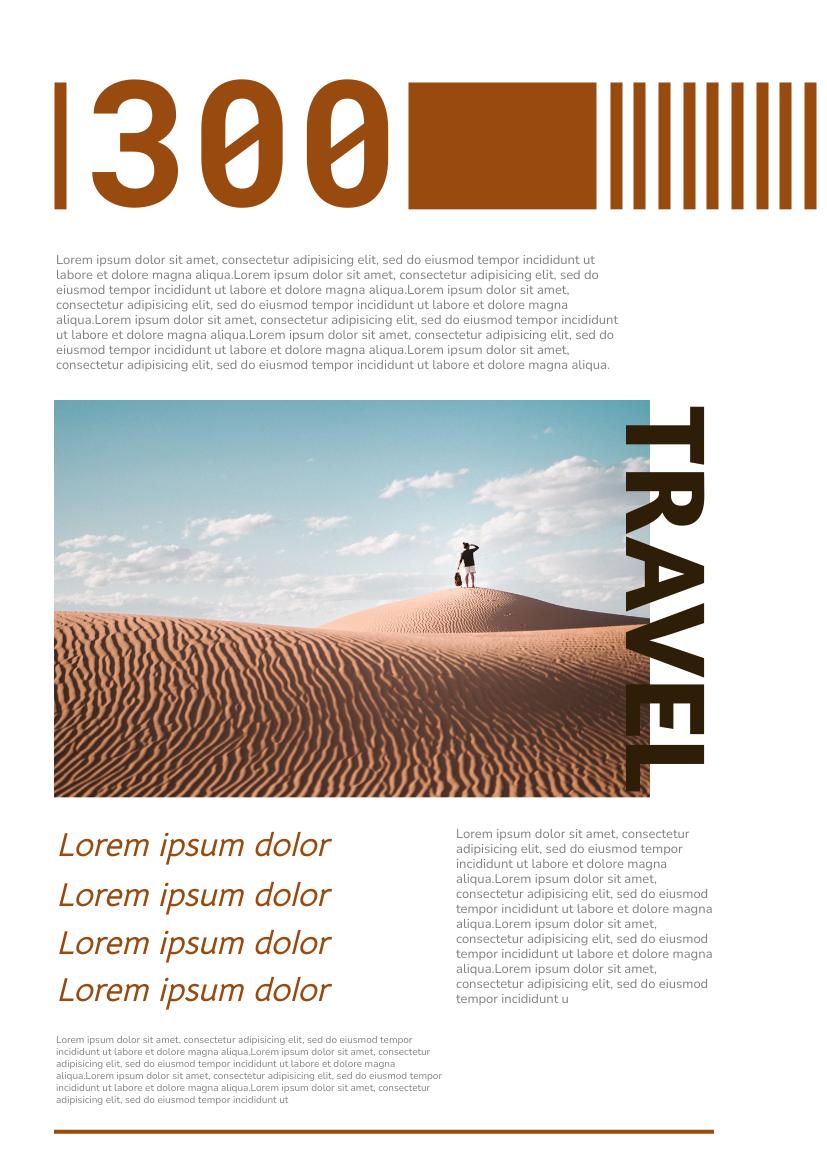 Flyer template: 300 Flyer (Created by InfoART's Flyer maker)