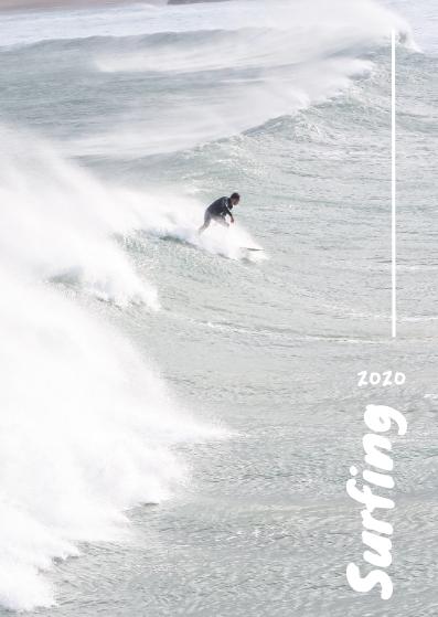 Postcard template: Surface Postcard (Created by InfoART's Postcard maker)