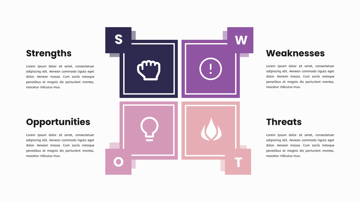 SWOT Framework Infographics