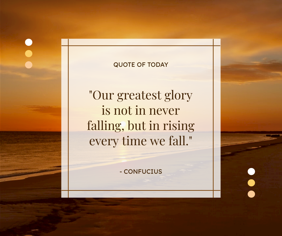 Facebook Post template: Sunset Quote Of Today Facebook Post (Created by InfoART's Facebook Post maker)