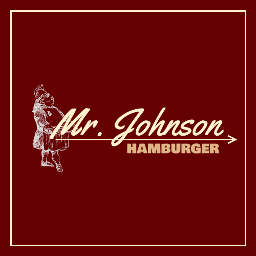 Logo template: Hamburger Store Logo Created With The Illustration Of The Founder (Created by InfoART's Logo maker)