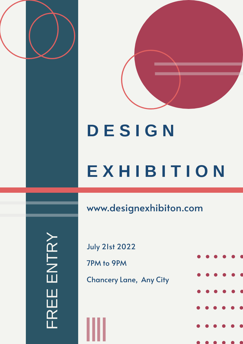 Design Exhibition Flyer