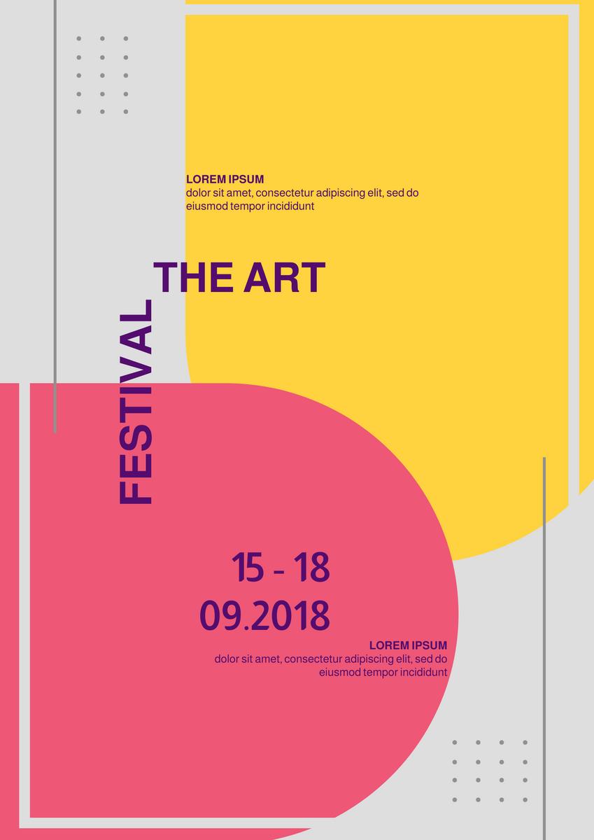 Poster template: Art Poster (Created by InfoART's Poster maker)