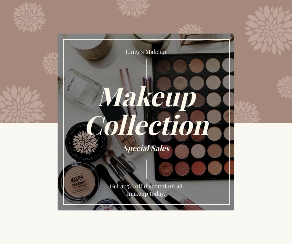 Facebook Post template: Makeup Special Sale Facebook Post (Created by InfoART's Facebook Post maker)
