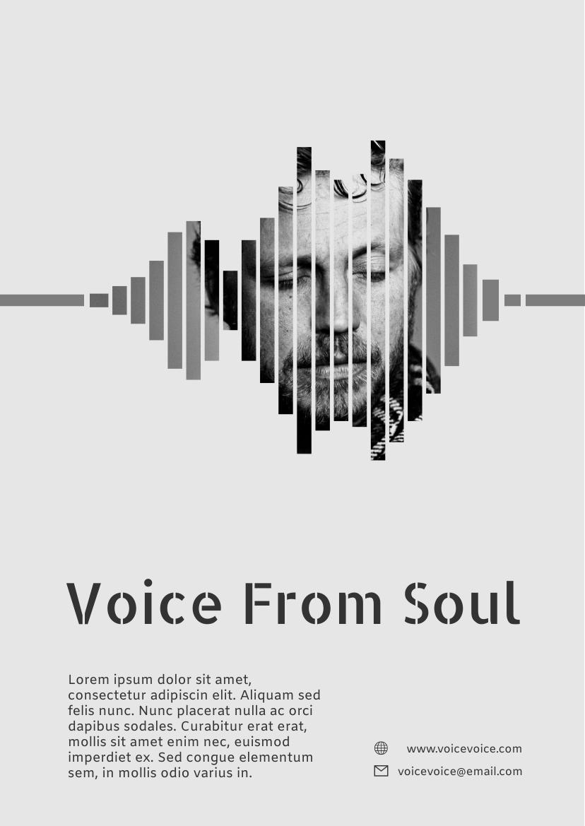 Flyer template: Concert Flyer (Created by InfoART's Flyer maker)