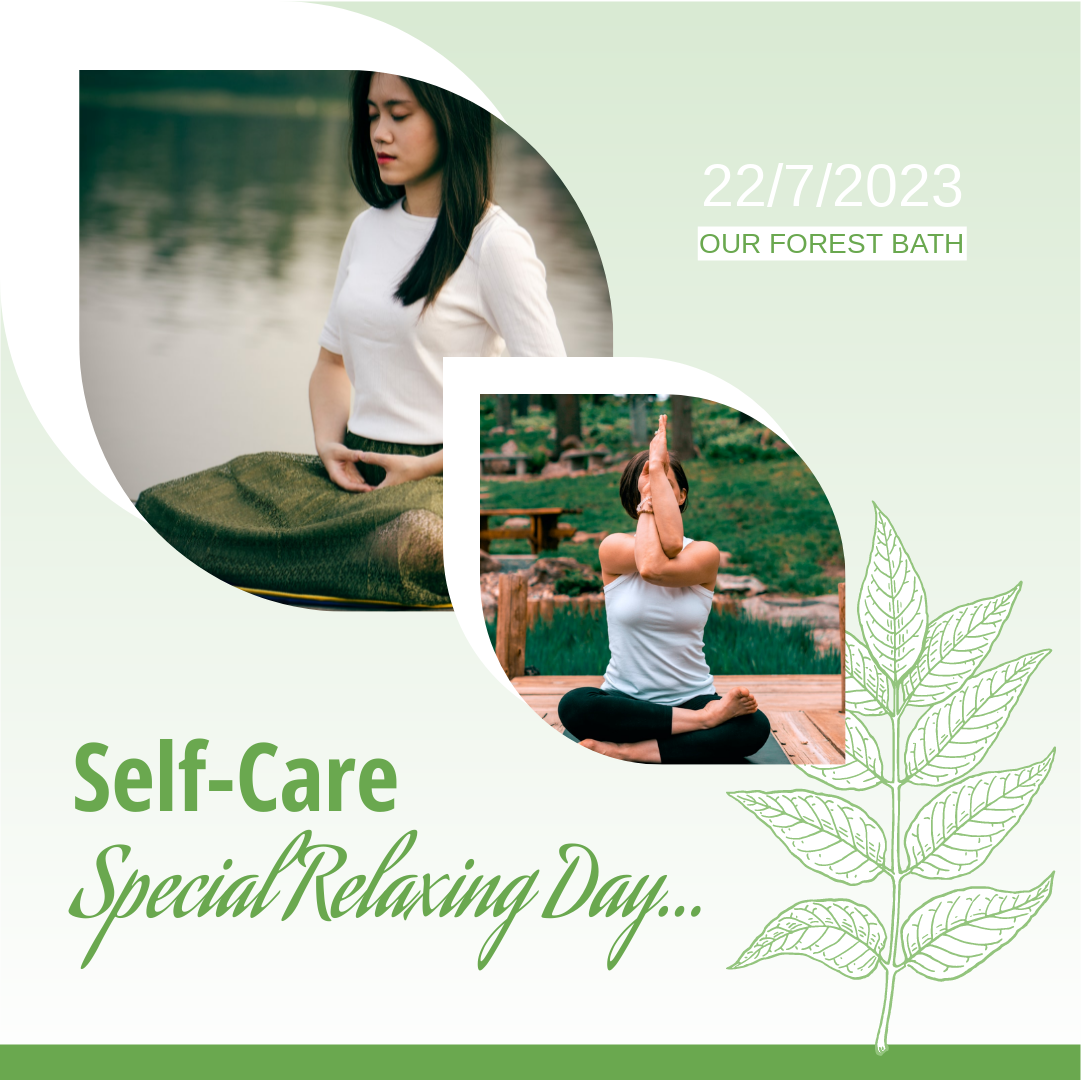Instagram Post template: Nature Mindfulness Instagram Post (Created by Collage's Instagram Post maker)