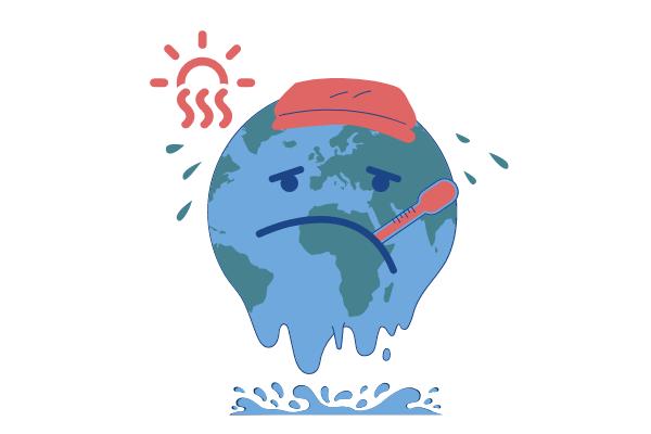 Home Illustration template: Global Warming Illustration (Created by Scenarios's Home Illustration maker)