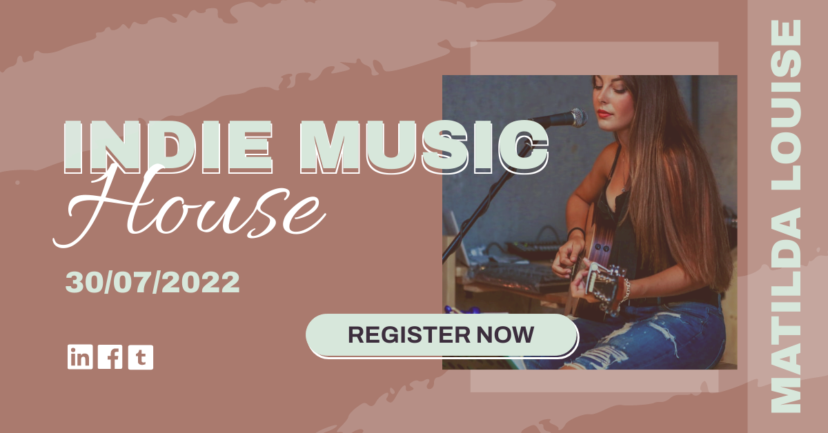 Facebook Ad template: Indie Music Concert Facebook Ad (Created by InfoART's Facebook Ad maker)