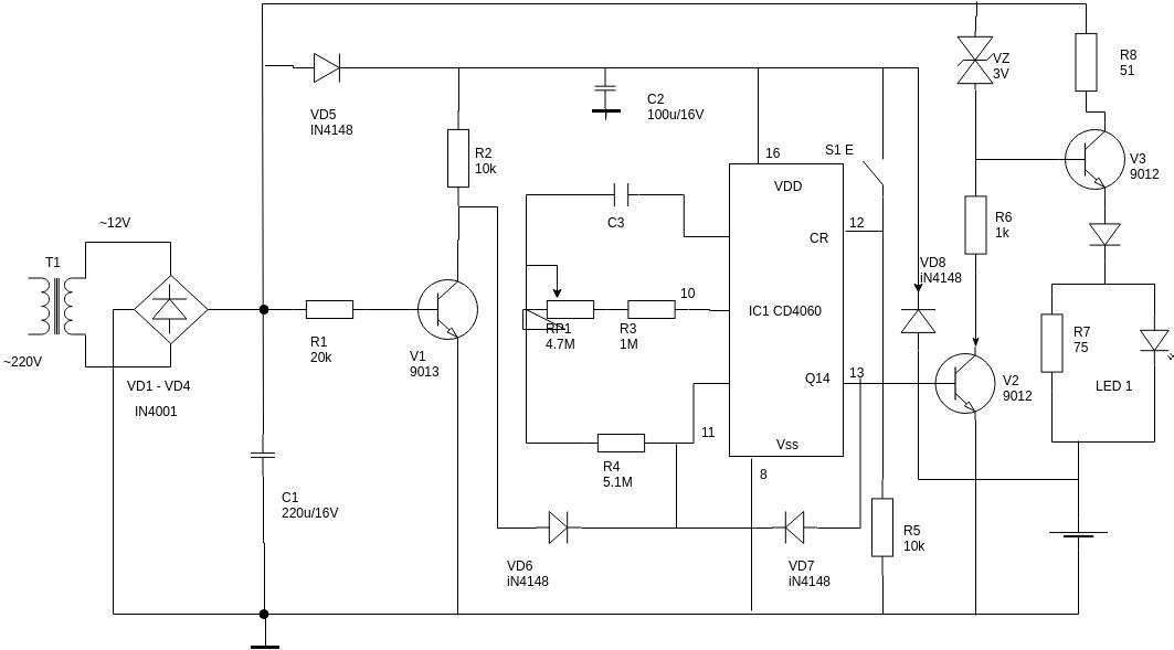 free circuit diagram examples