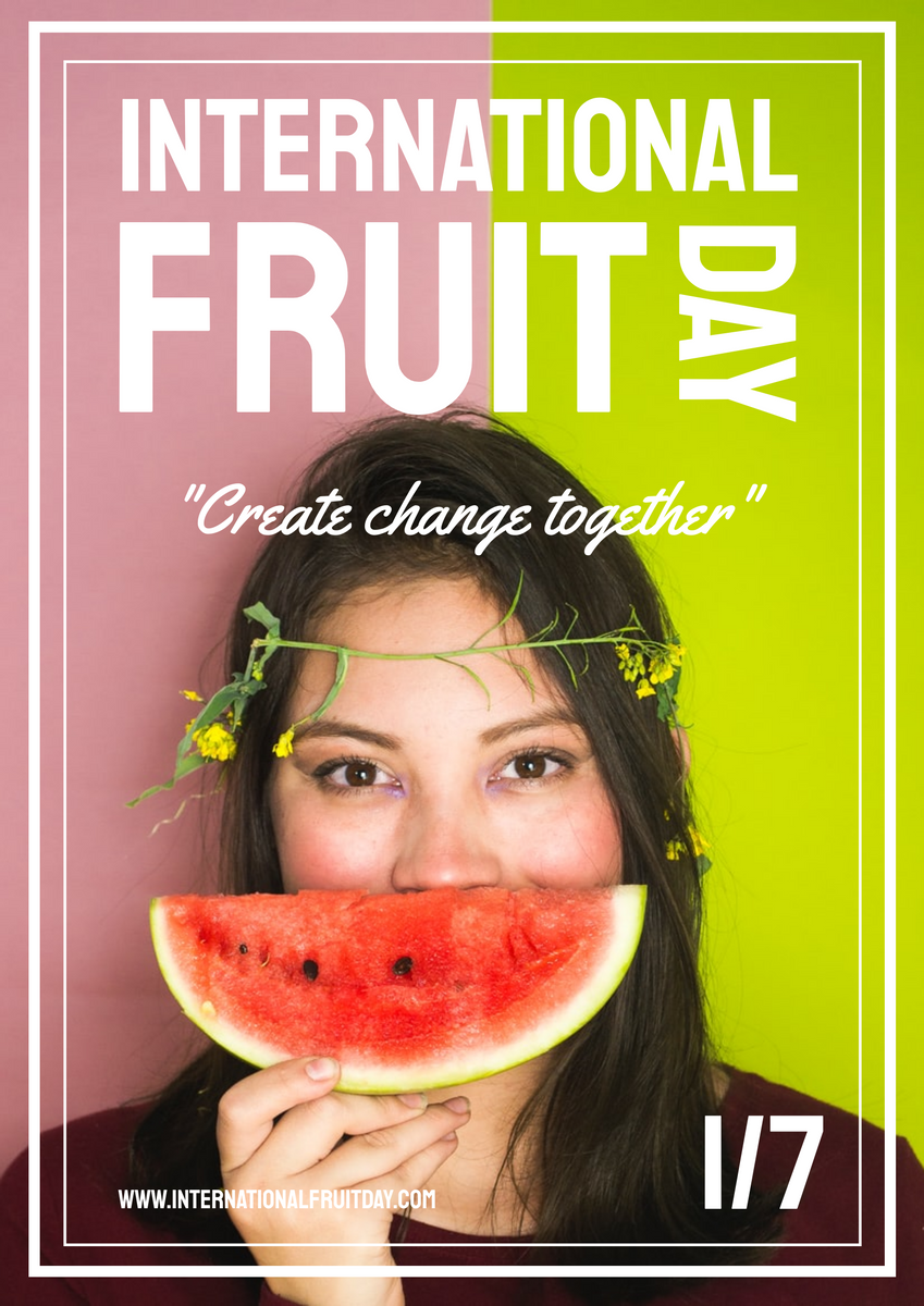 Poster template: Photography International Fruit Day Poster (Created by InfoART's Poster maker)
