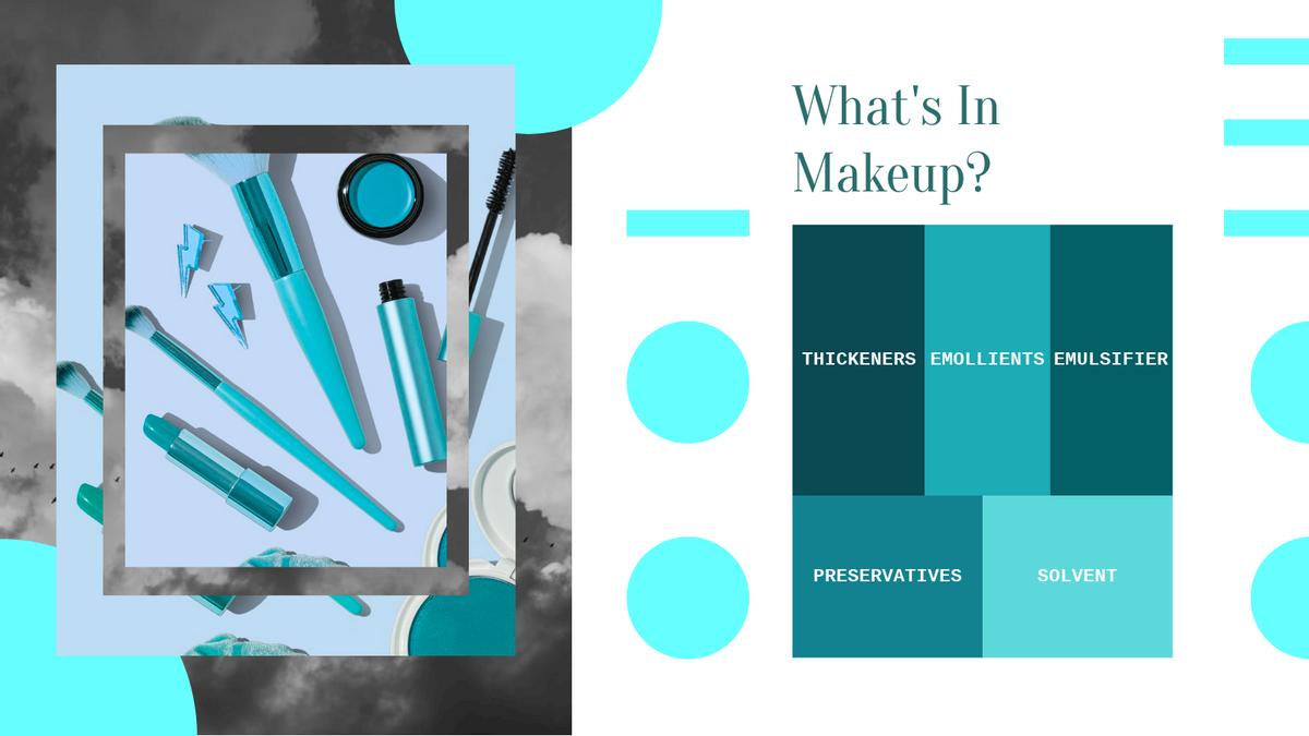 Treemap template: Makeup Ingredients Treemap (Created by Chart's Treemap maker)