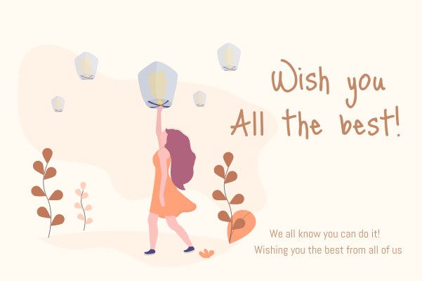 Greeting Card template: Wish Greeting Card (Created by InfoART's Greeting Card marker)