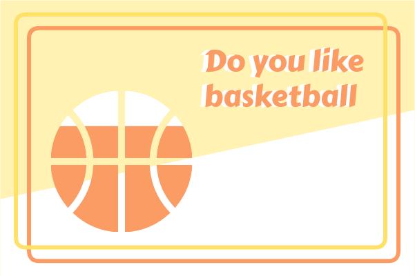 Sport template: Love Basketball (Created by InfoChart's Sport maker)