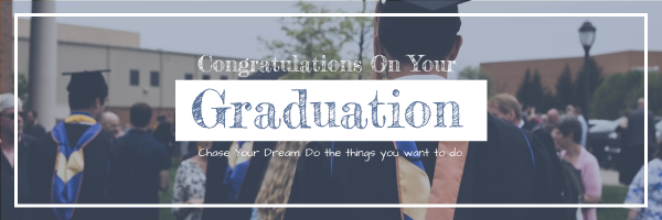 Email Header template: Congratulations On Graduation Email Header (Created by InfoART's Email Header maker)
