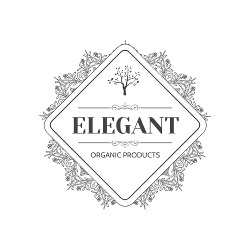Logo template: Elegant Organic Products Logo Created With Complicated Decorations (Created by InfoART's Logo maker)