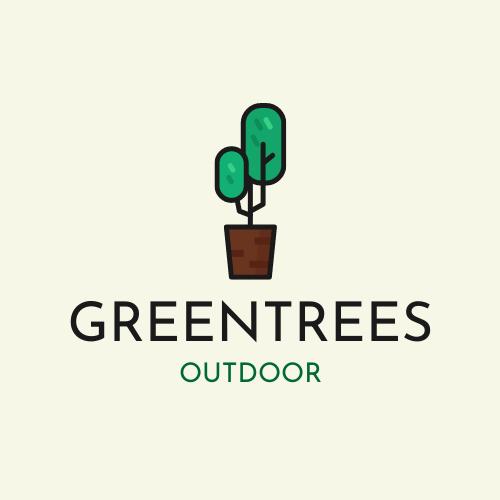 Logo template: Green Trees Outdoor Logo (Created by InfoART's Logo maker)