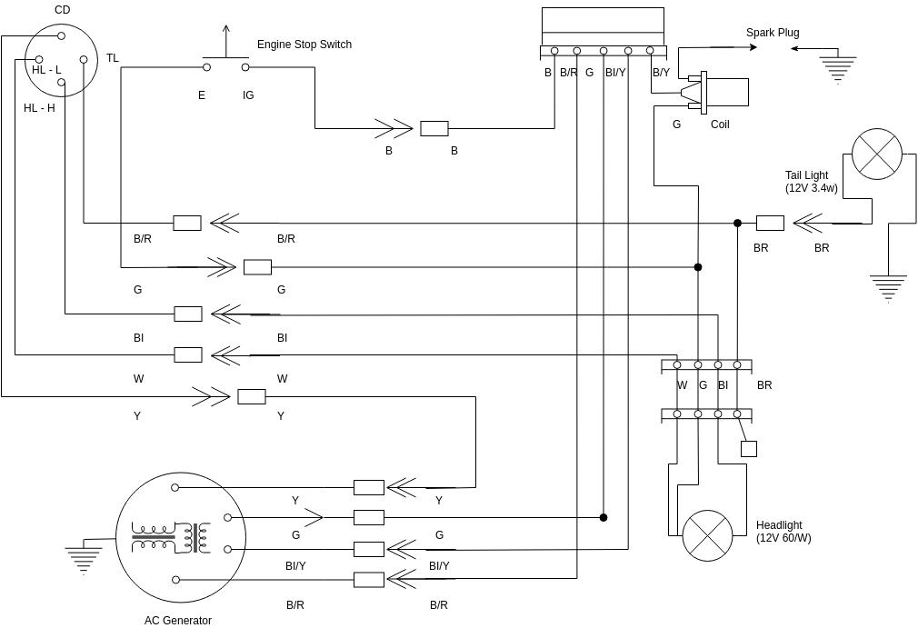 Simple Wiring Diagram   Wiring Diagram TemplateVisual Paradigm Online