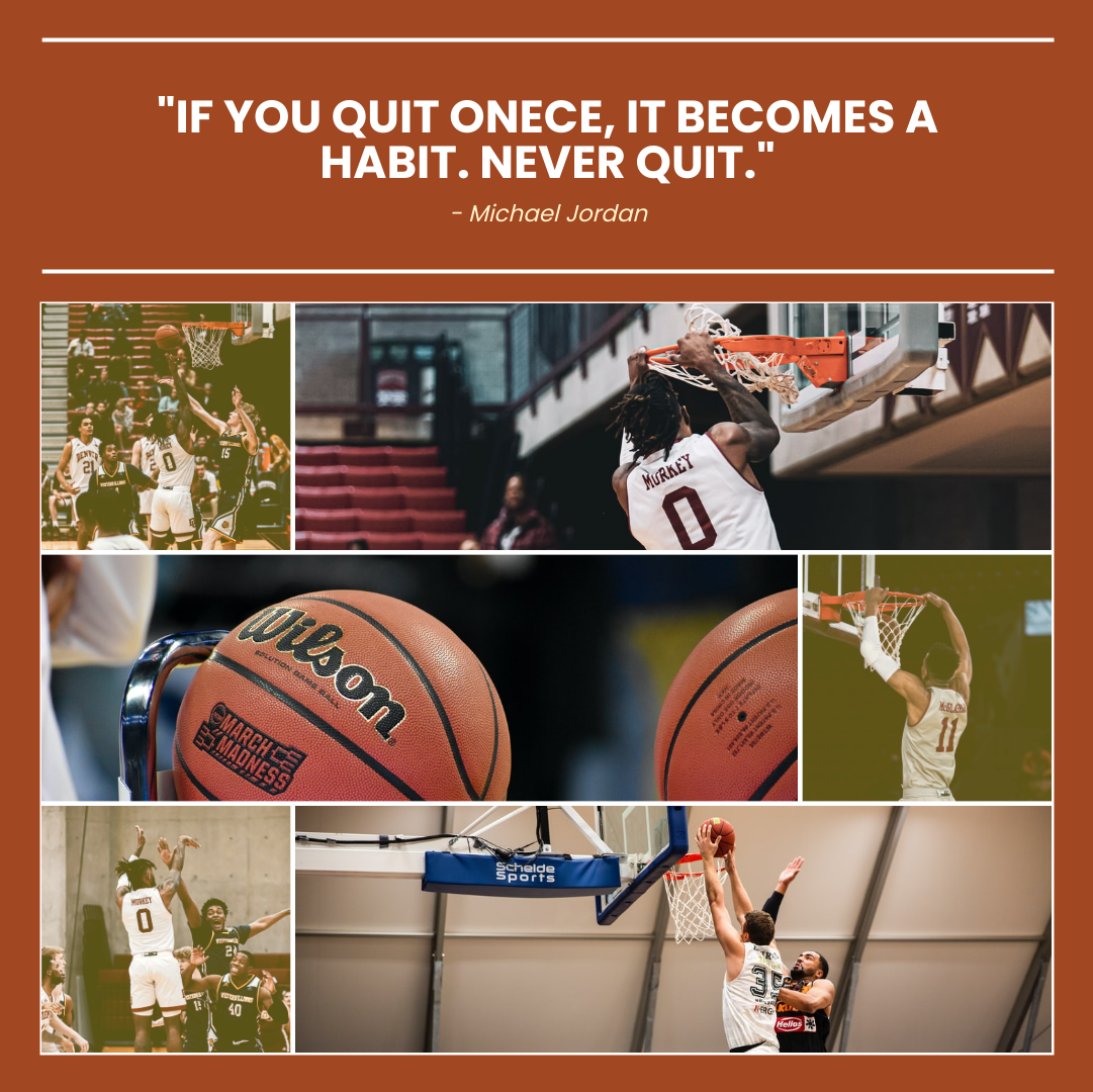 Photo Collage template: Basketball Quote Photo Collage (Created by Collage's Photo Collage maker)