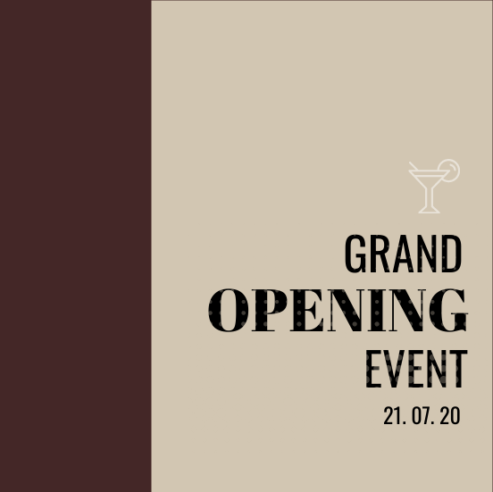Invitation template: Grand Opening Invitation 2 (Created by InfoART's Invitation marker)