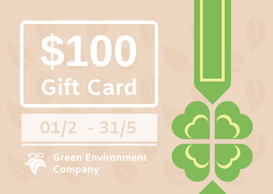Gift Card template: Eco Store Gift Card (Created by InfoART's Gift Card marker)