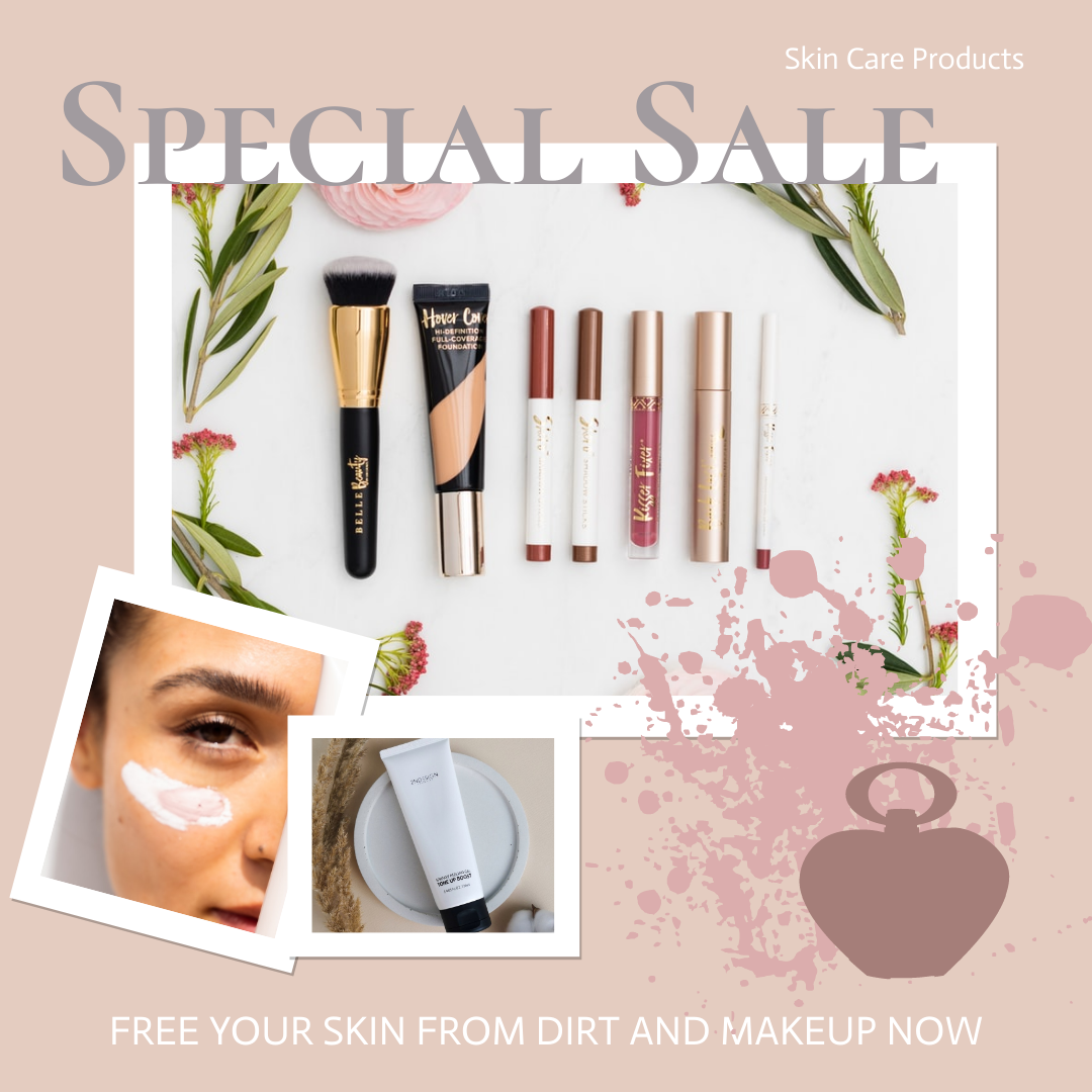 Instagram Post template: Skin Care Products Special Sale Instagram Post (Created by Collage's Instagram Post maker)