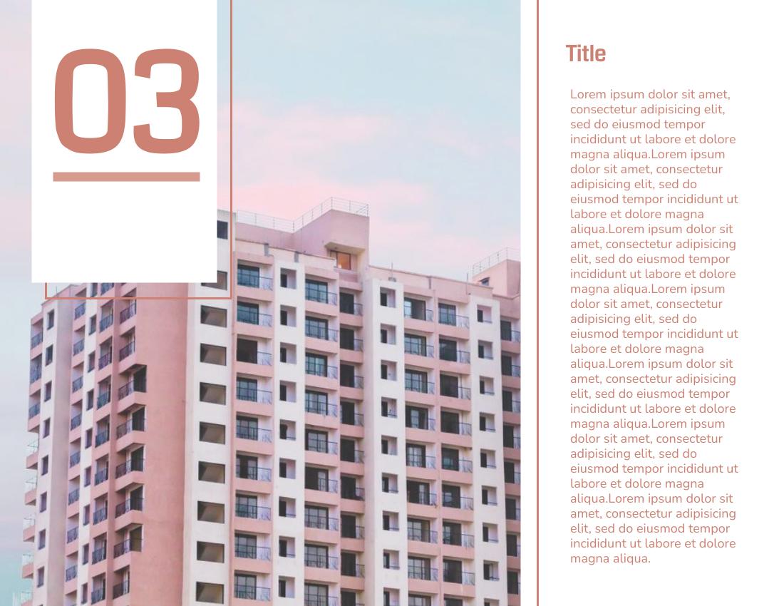 Brochure template: Brochure for Property (Created by InfoART's Brochure maker)