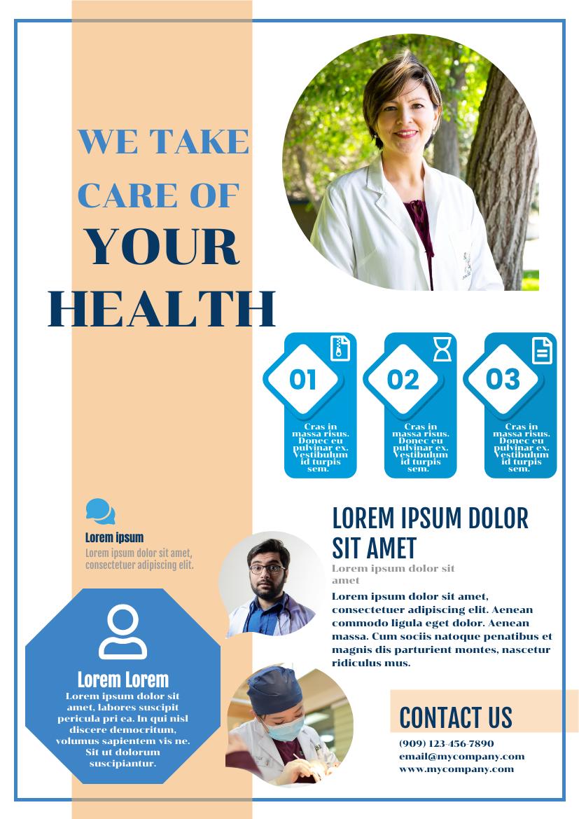 Flyer template: Health Flyer (Created by InfoART's Flyer maker)