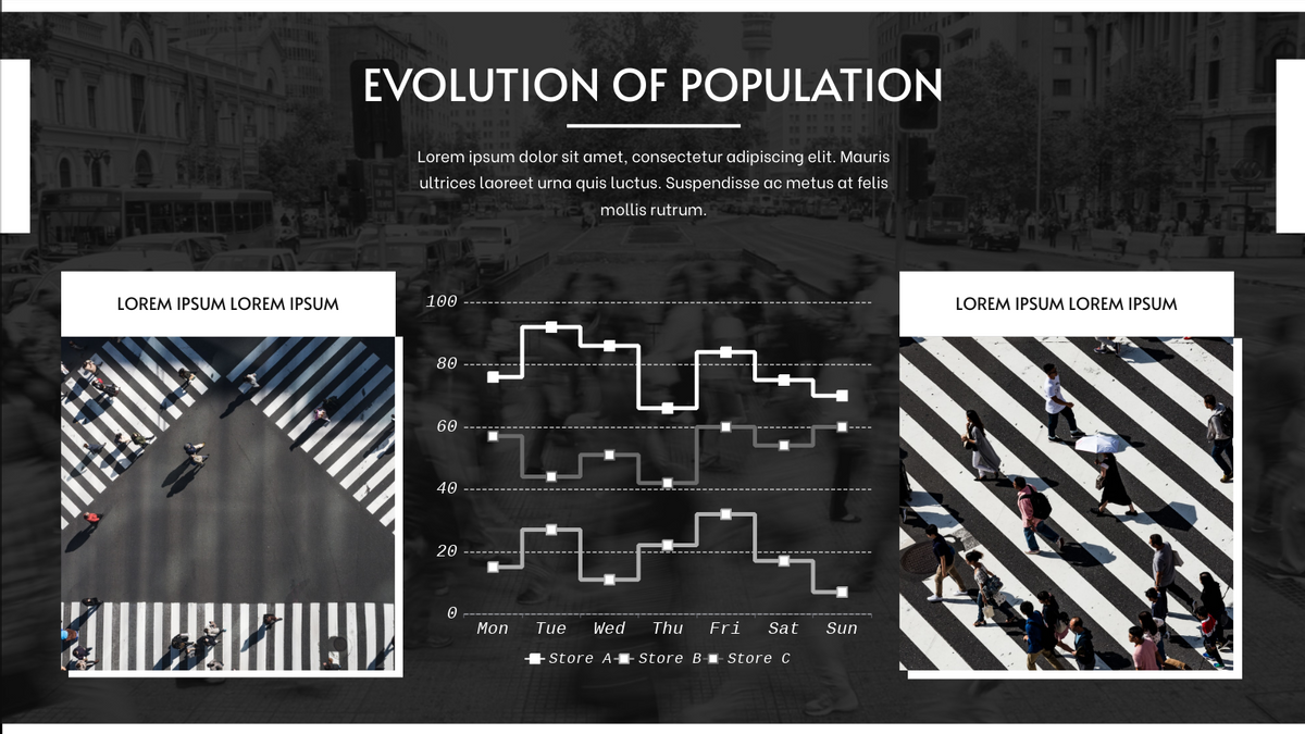 Step Chart template: Evolution Of Population Step Chart (Created by Chart's Step Chart maker)
