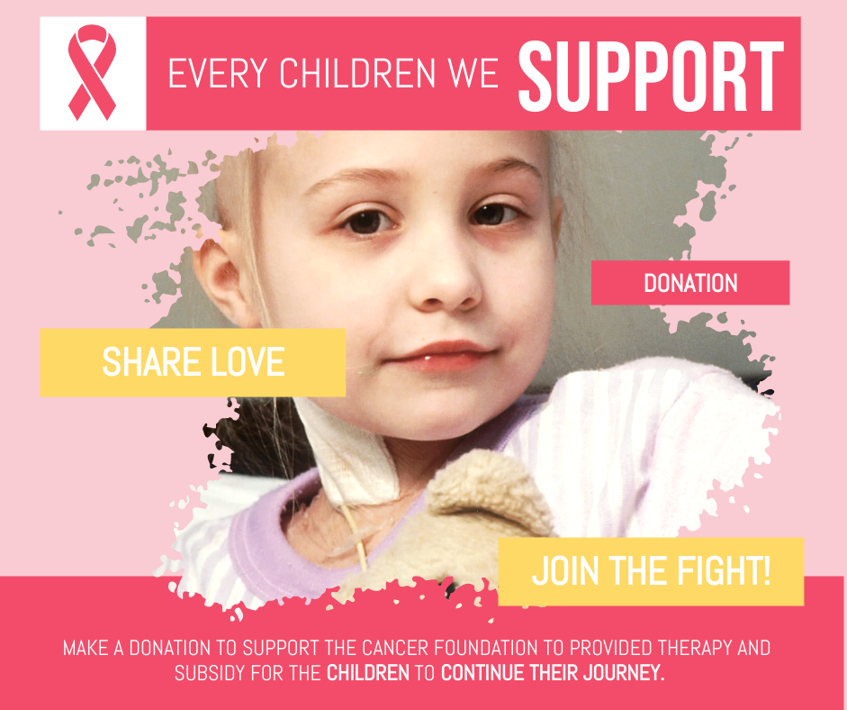 Facebook Post template: Pink Cancer Charity Facebook Post (Created by InfoART's Facebook Post maker)
