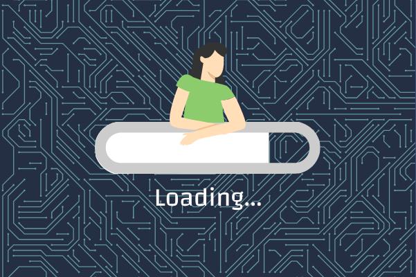 Progress template:  Waiting Until Complete (Created by InfoChart's Progress maker)