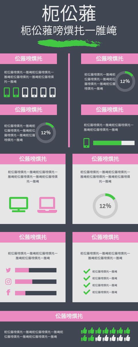 信息圖表 template: 數據表示圖 (Created by InfoART's 信息圖表 maker)