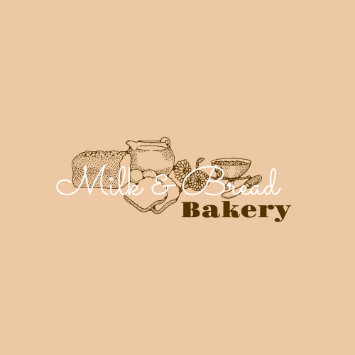 Logo template: Bakery Logo Created With Illustration Of Bread (Created by InfoART's Logo maker)
