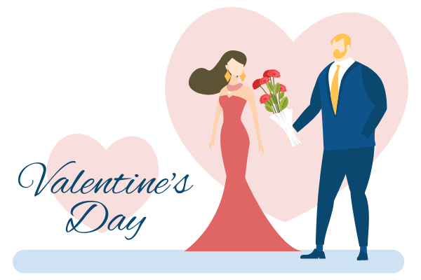 illustrations.templates.relationship.type-name template: Valentine's Day And Flower Illustration (Created by Scenarios's illustrations.templates.relationship.type-name maker)
