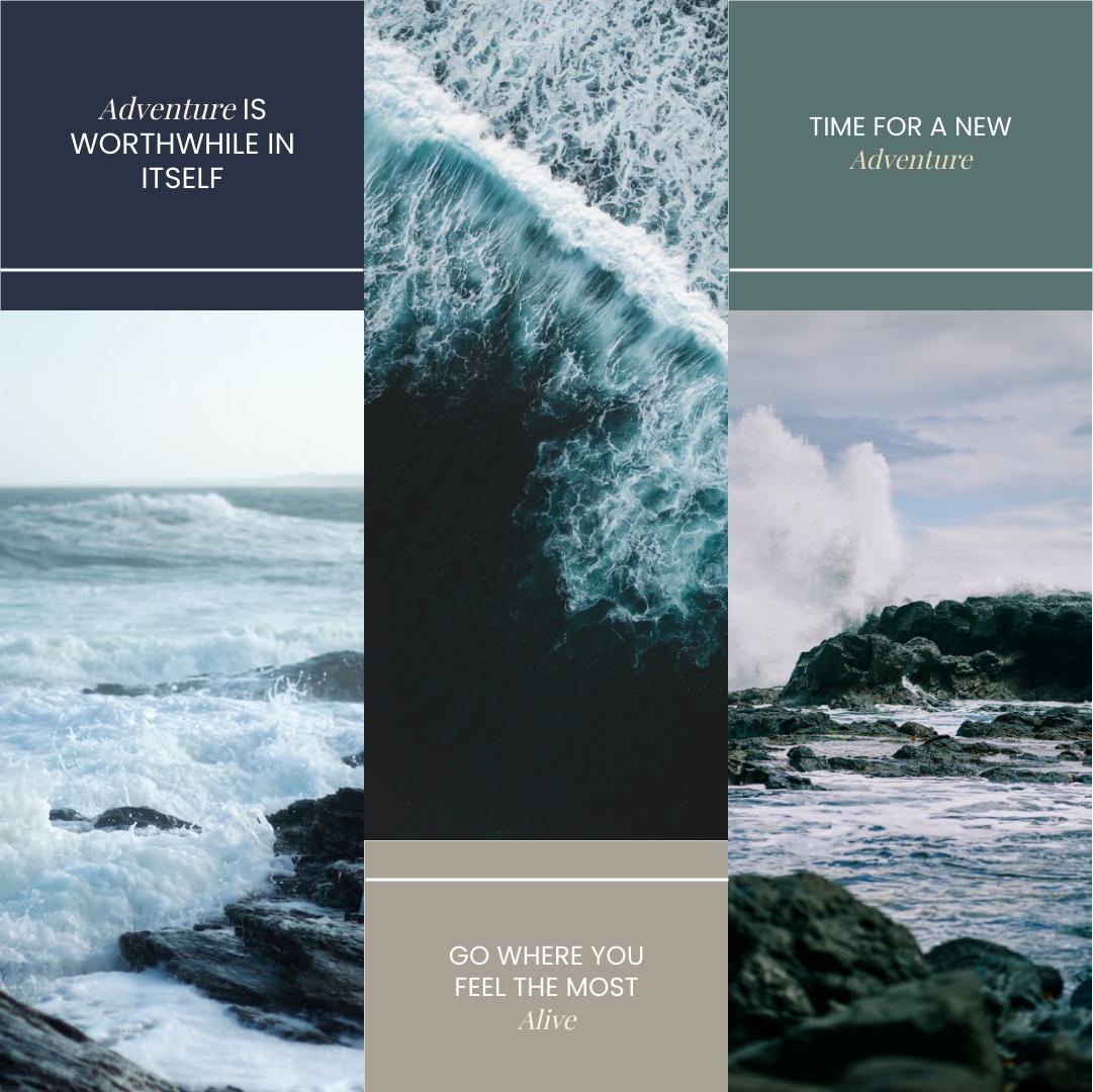Photo Collage template: Travel Adventure Photo Collage (Created by Collage's Photo Collage maker)