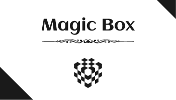 Business Card template: Magician Business Cards (Created by InfoART's Business Card maker)