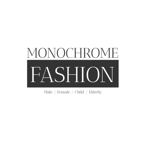 Logo template: Monochrome Typography Logo Generated For Fashion And Clothing Related Company (Created by InfoART's Logo maker)