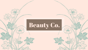 Business Card template: Elegant Beauty Business Cards (Created by InfoART's Business Card maker)