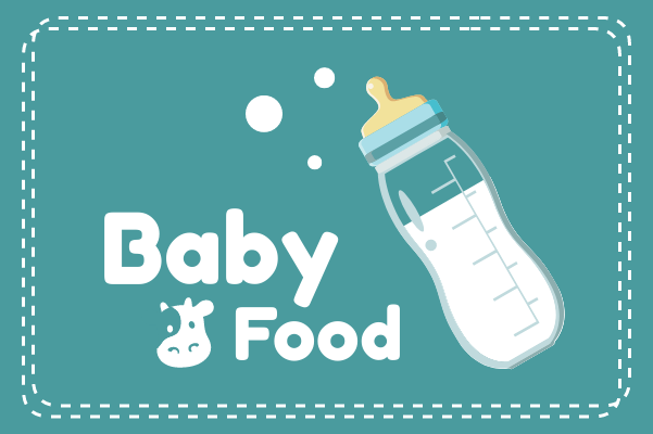 Container template: Baby Food (Created by InfoChart's Container maker)