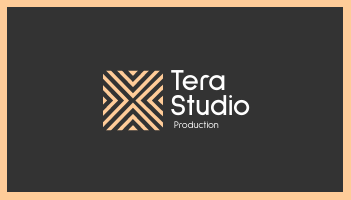 Business Card template: Tera Business Cards (Created by InfoART's Business Card maker)
