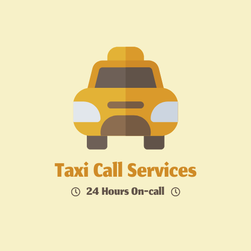 Logo template: Taxi-Call Services Logos (Created by InfoART's Logo maker)