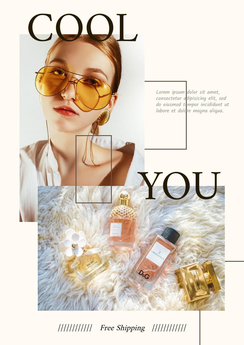 Flyer template: Perfume Promotion Flyer (Created by InfoART's Flyer maker)