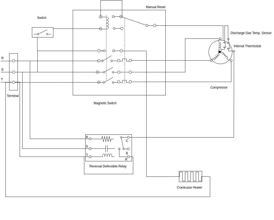 Motor Starter Wiring Diagram from online.visual-paradigm.com
