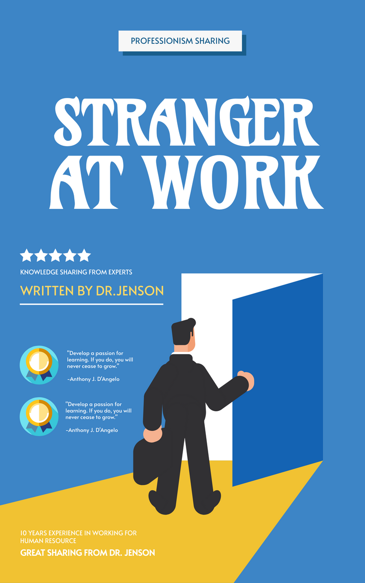 Book Cover template: Human Resource Management Book Cover (Created by InfoART's Book Cover maker)