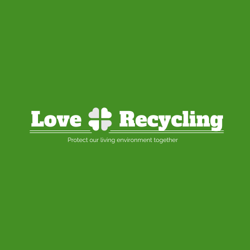 Logo template: Recycling Logo Design WIth Simple Graphic And Words (Created by InfoART's Logo maker)