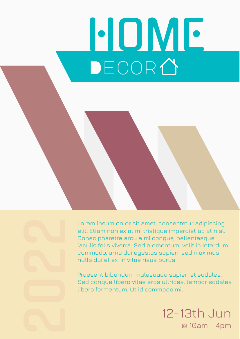Flyer template: Home Decor Flyer (Created by InfoART's Flyer maker)