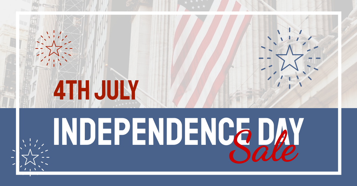 Facebook Ad template: Photography Independence Day Sale Facebook Ad (Created by InfoART's Facebook Ad maker)